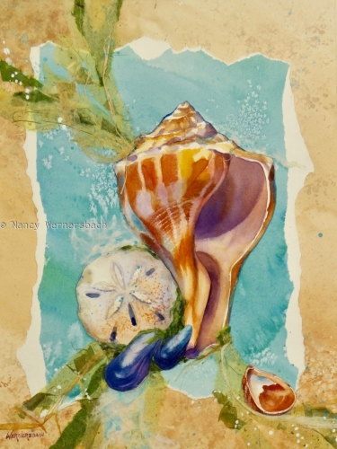 Tidepool Treasures by Nancy Wernersbach