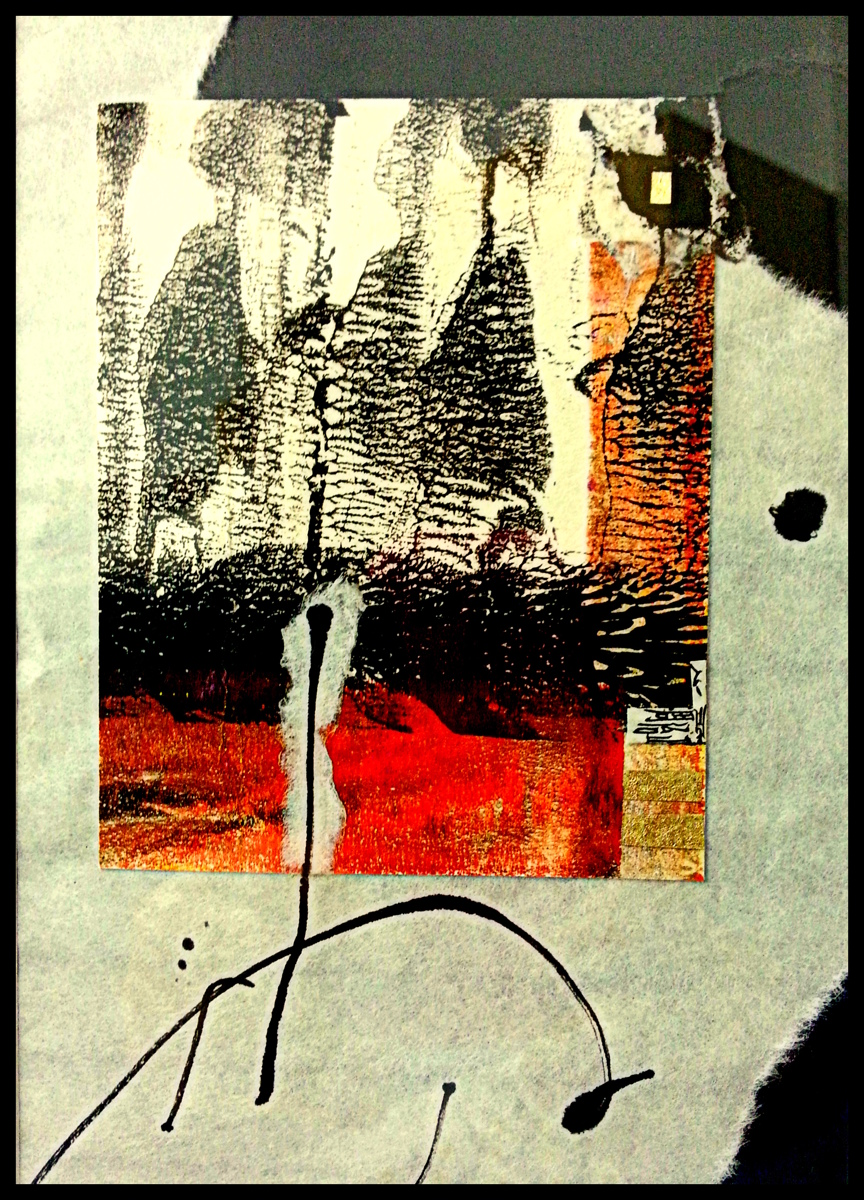 Collage Monoprint (large view)