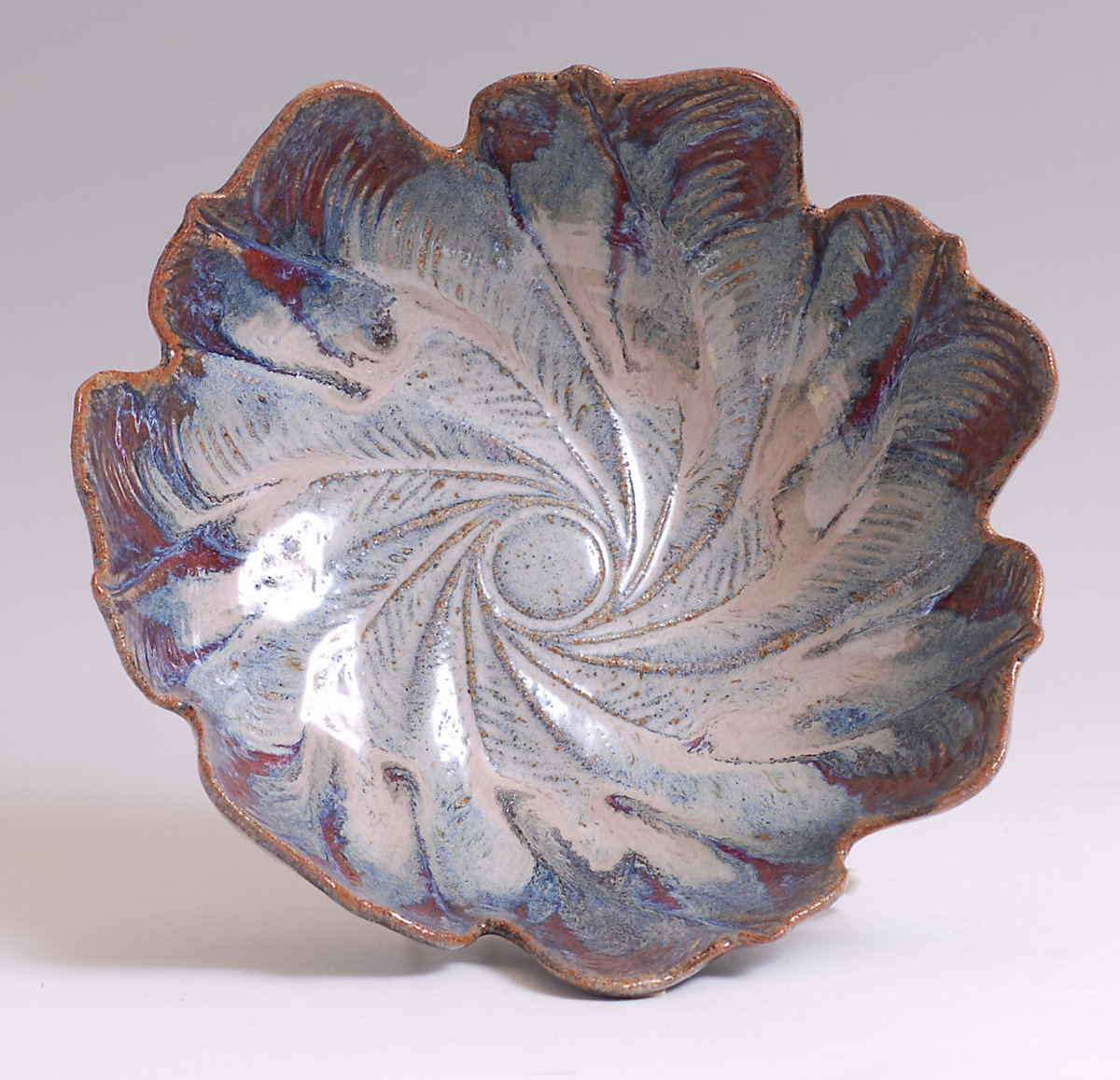 Leaf Bowl by Margaret & Rick Fitch (large view)