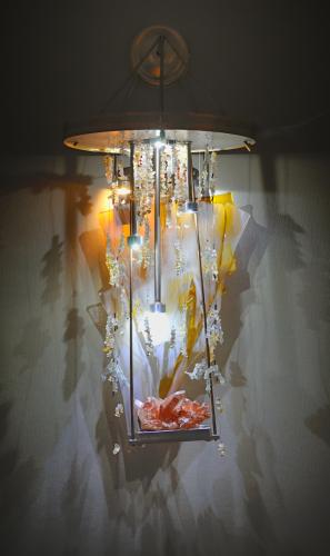 Angel Wing - wall chandelier