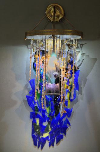 Amethyst Inspiration - wall chandelier