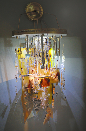 Hopes - wall chandelier
