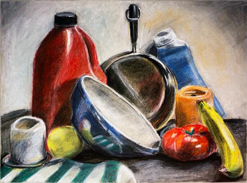Still Life of Kitchenware