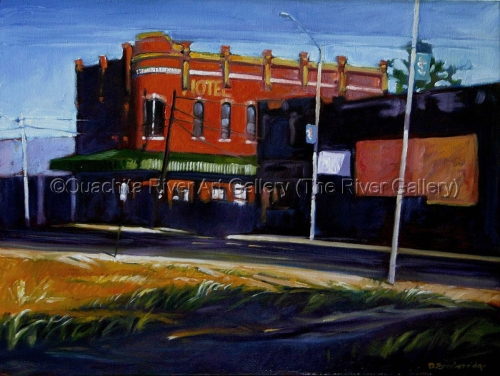 Edward Hopper's DeSaird Street by Ouachita River Art Gallery (The River Gallery)