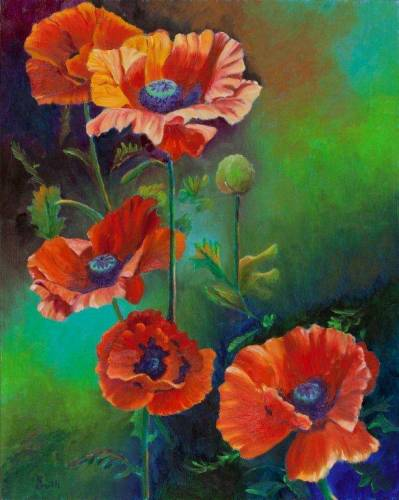 Colorado Poppies (large view)