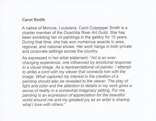 Artist Statement (large view)