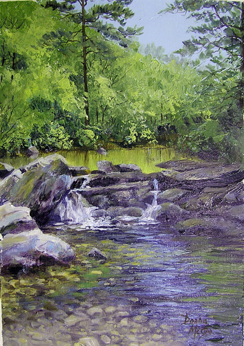 Caney Creek in Spring (large view)