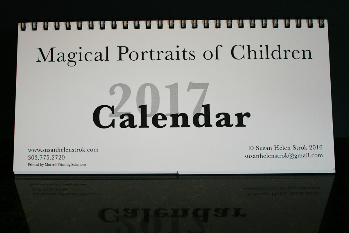Magical Portraits of Children 2017 Calendar (large view)
