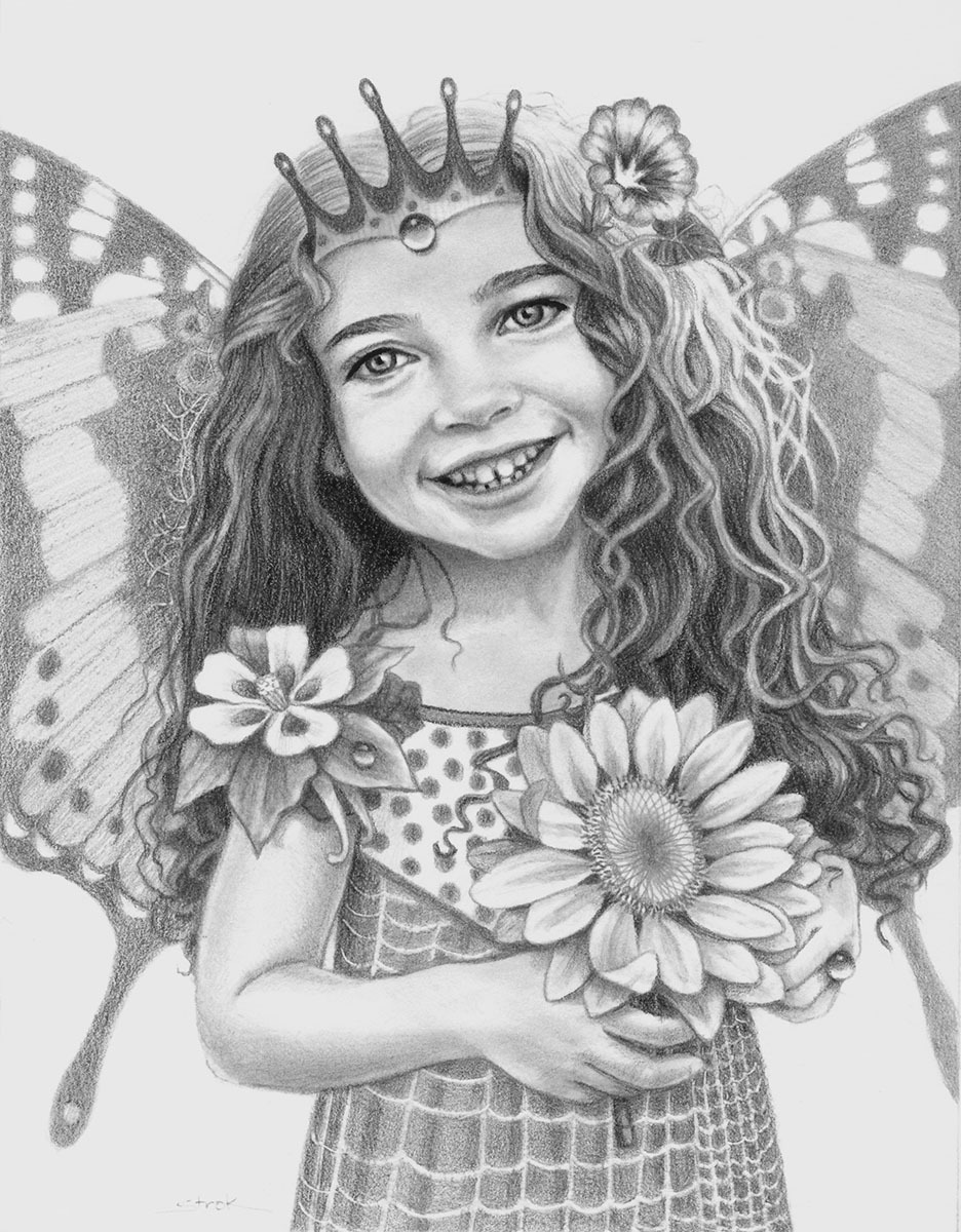 Sunflower Fairy (large view)