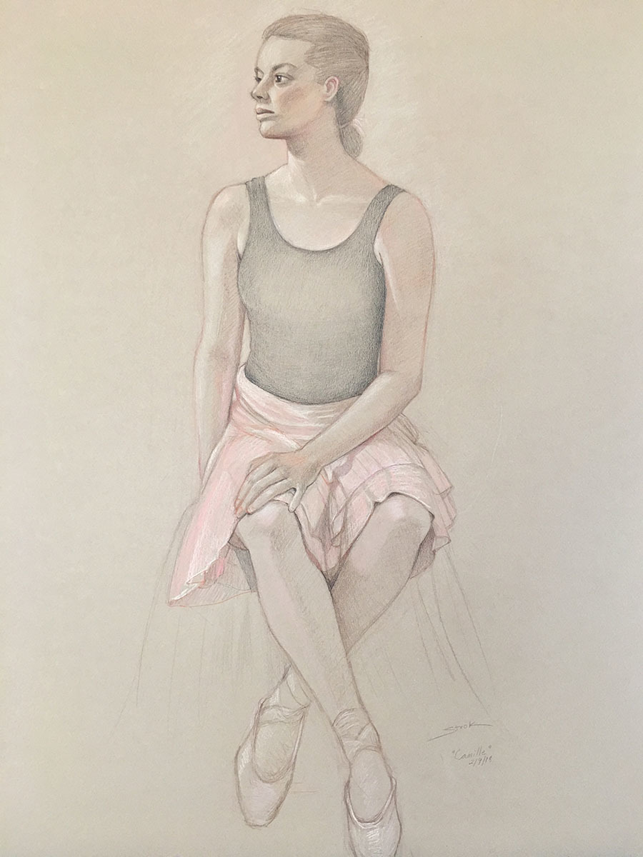 Seated Ballerina (large view)
