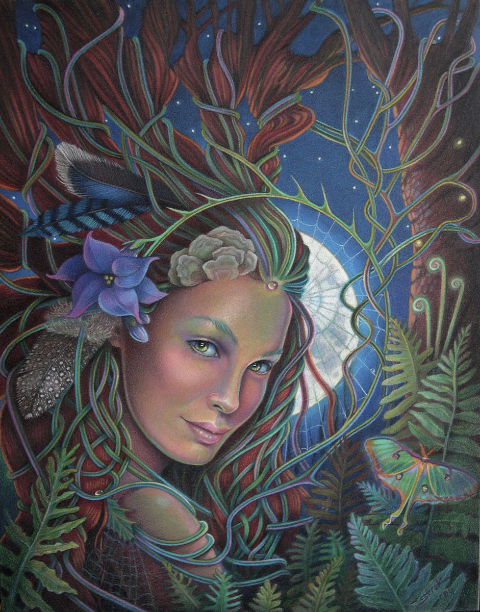 Lady of the Forest (large view)