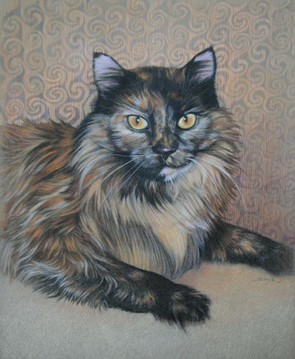 """""""Portrait of Taz"""" (large view)"""