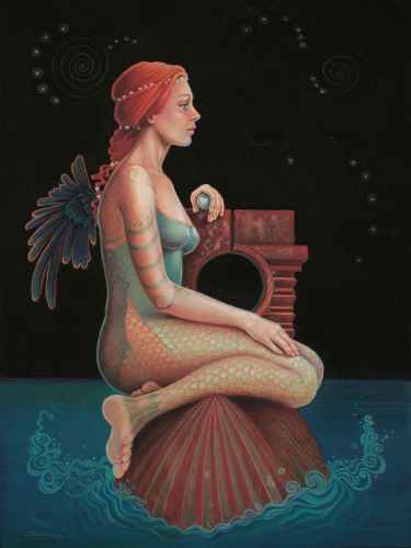 """Midnight Seer"" by SUSAN HELEN STROK"