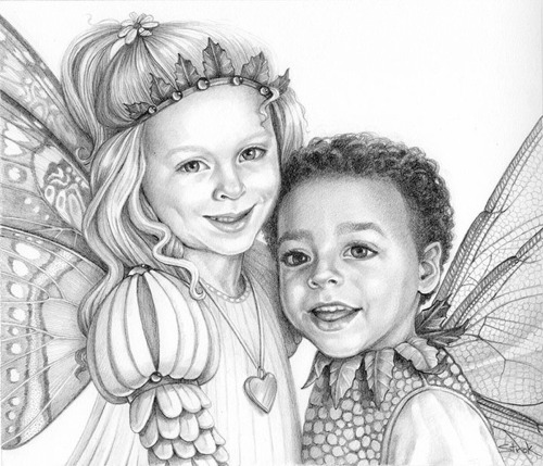 """""""Princess and the Prince"""" (large view)"""