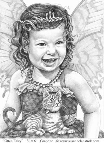 """""""Kitten Fairy"""" (large view)"""