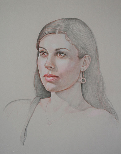 Portrait of Anastasia, Stage 2_Verithin limited colors (large view)