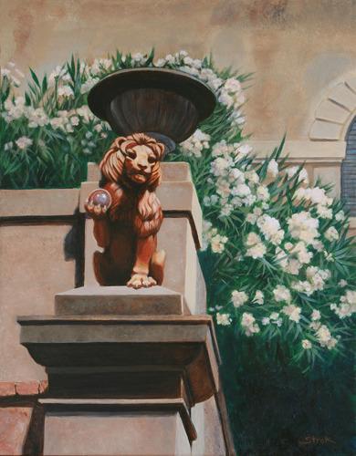 Sentinel at Piombino Villa by Susan Helen Strok
