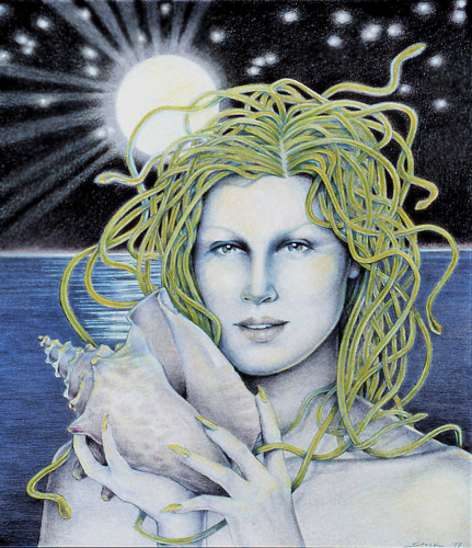 Medusa with Shell (large view)