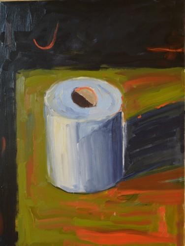 Toilet Paper by Anthony Allman Fine Art