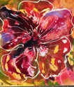 Abstract Red Floral (thumbnail)