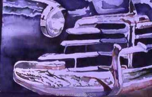 Waynes Car by Pamela Lee  Studios