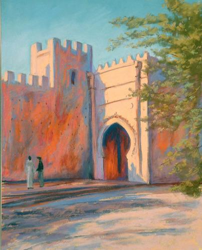 Chellah Gate