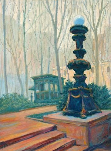 Lamp Post, Bryant Park