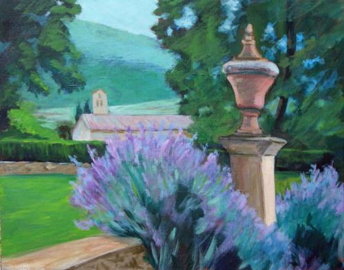 Lavender, Cortona