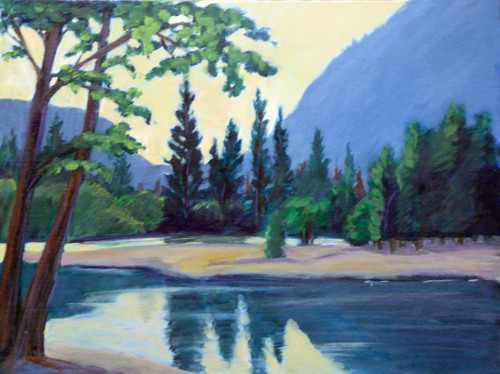 Merced River & Trees, Yosemite