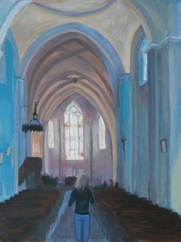 Church Interior, Saint-Émilion