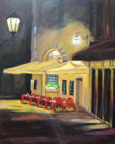 Café at Night