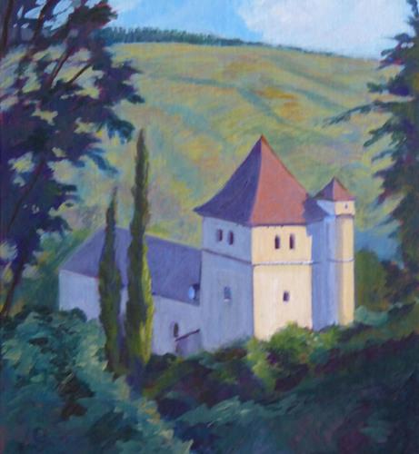 Church, Saint-Cirq-Lapopie