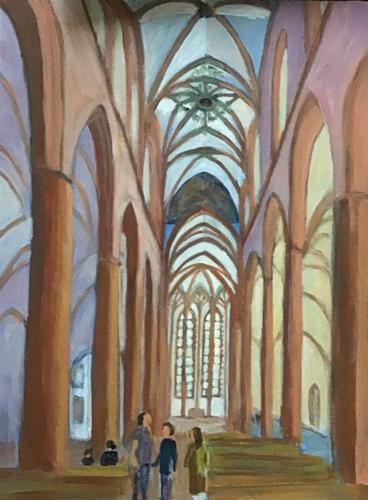 Church Interior, Heidelberg
