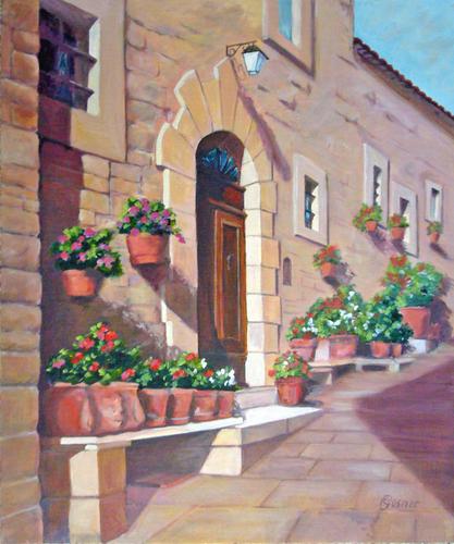 Cortona Doorway III