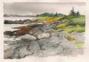 Lanes Island rocks (thumbnail)