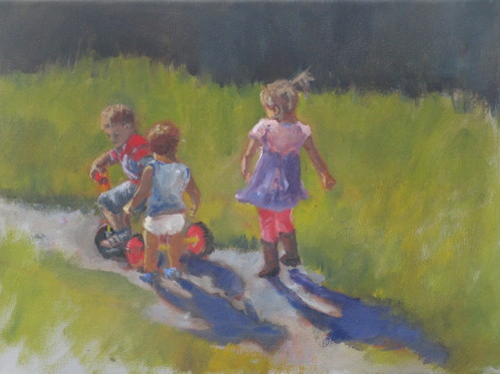 Shared Trike by Pamela Grumbach