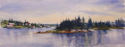 View from Lanes Island Bridge (thumbnail)