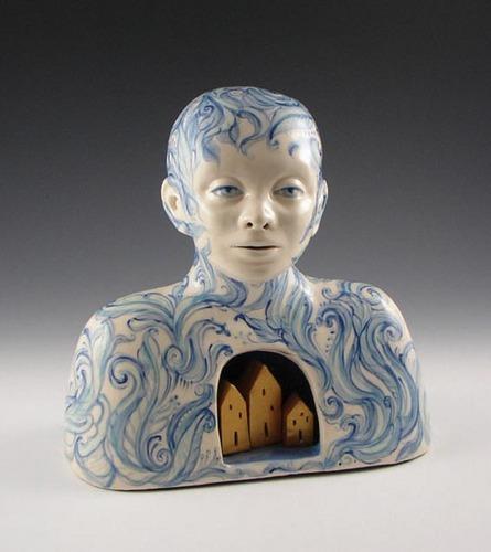 Reliquary, porcelain
