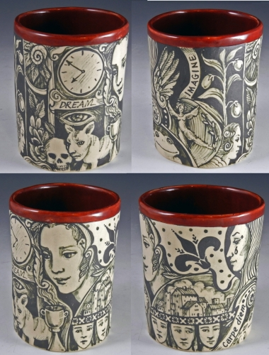 Story cup/ vase