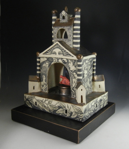 Reliquary for Edgar by Pam Stern