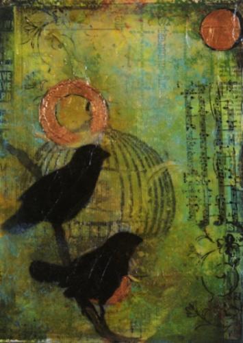 Duet by Ishita Bandyo Art