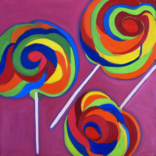 Candies for Sale by Ishita Bandyo Art