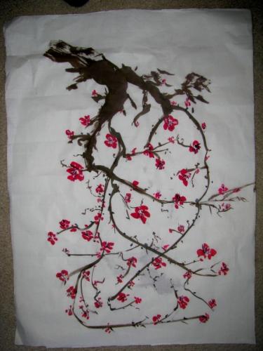 cherry blossom hanging