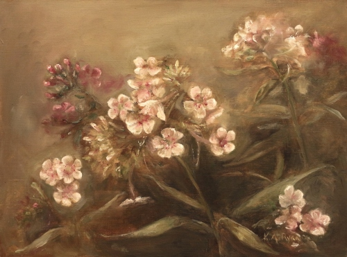 Pink Phlox by Karen Ryan Fine Art