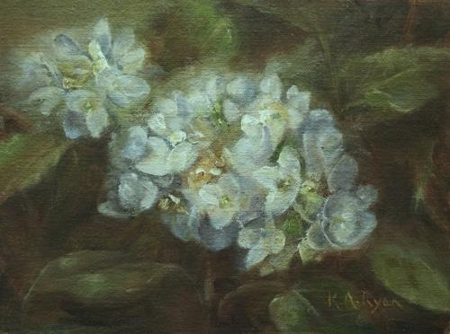 Blue Hydrangea by Karen Ryan Fine Art