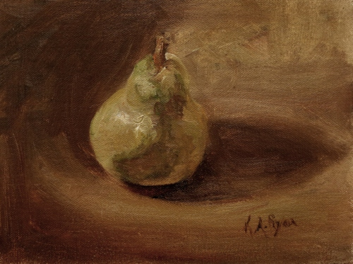 Pear by Karen Ryan Fine Art