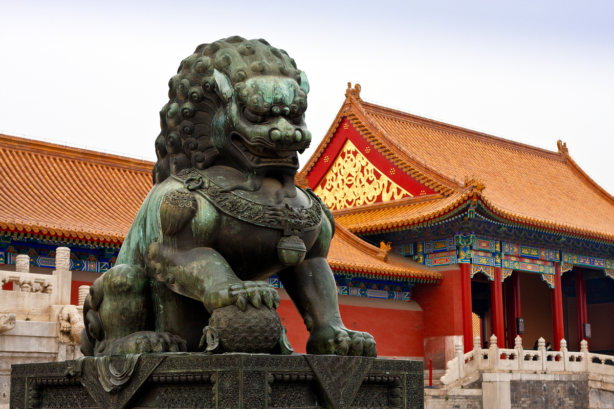 "Photography : ""Foo Dog Palace Guardian"" (Original art by Thomas Parry ...: www.thomasparryphotography.com/large-multi-view/China/1174191-4..."