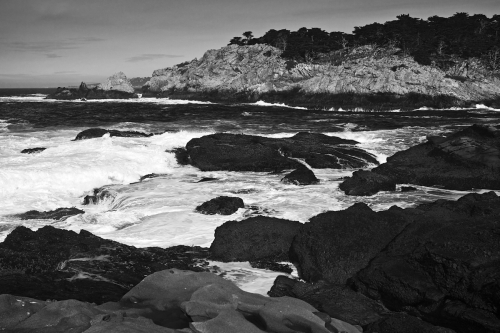 Point Lobos Coastline by Thomas Parry Photography