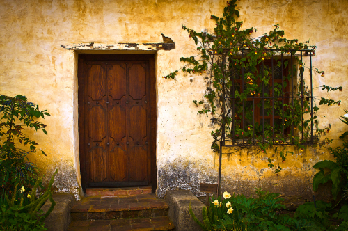 Rectory Entrance by Thomas Parry Photography
