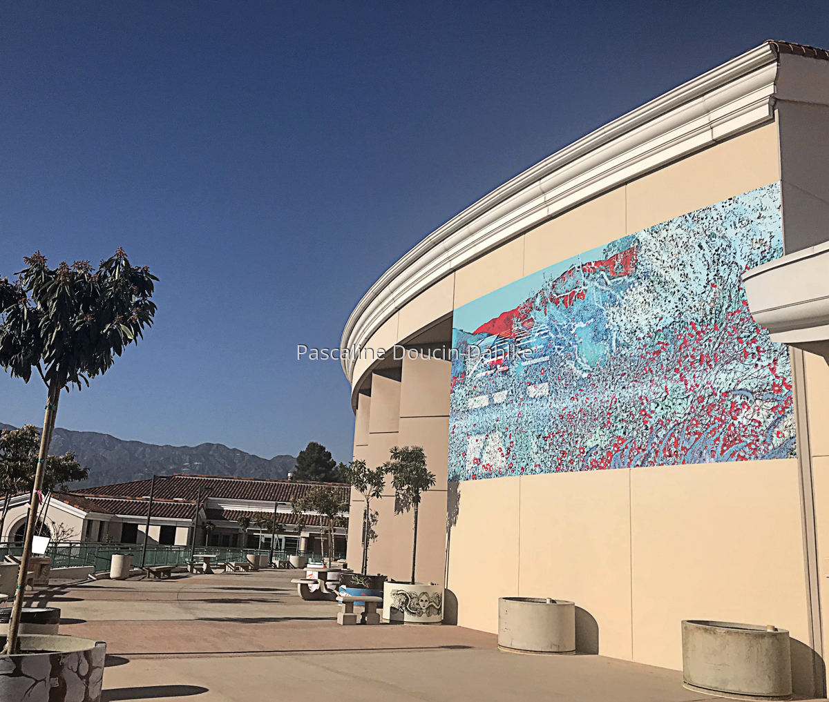 Glendale Community College Mural (large view)